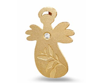 Guardian Angel - Sprout - Gold-plated