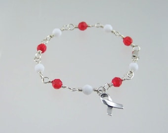 Aplastic Anemia Awareness Bracelet
