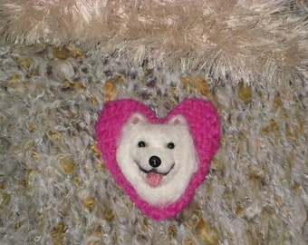 Pet Gift Your dog as a cute Pin / Custom made for You