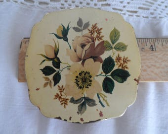 Vintage Compact case and mirror