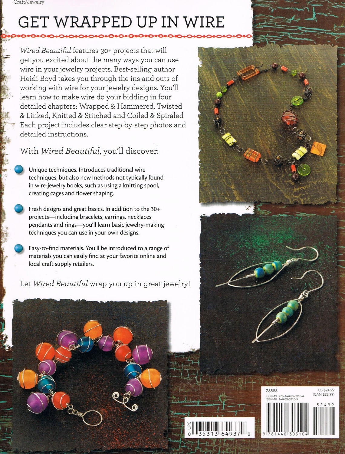 Wired Beautiful, Jewelry Projects, Wire Wrapping, Hammering Wire ...