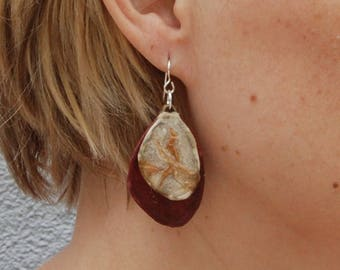Double Petal Earring