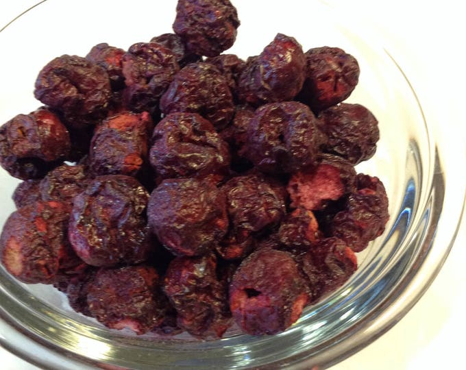 1/2-4 oz Organic Freeze Dried Cherries No additives No gluten no soy no sulfites.  Survival food, camping, hiking