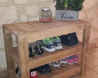 Furniture shelf rack shoes