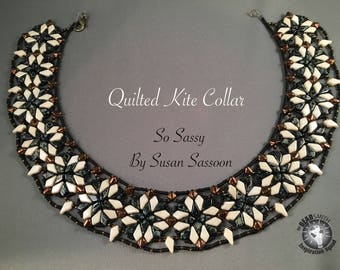 Quilted Kite Collar Tutorial