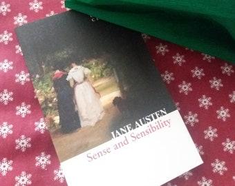 3 x Jane Austin Sense and Sensibility paper rose bunch