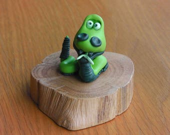 Collectable Polymer Clay Snake.
