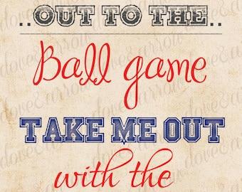 8x10 Baseball Baby Shower Printable Sign, Print, Nursery Room, Boys, Theme, Digital Art