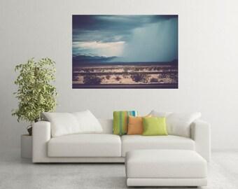 Utah Mountains/ Weather/ Storm Clouds/ Wall decor/ Home Decor/ Utah print
