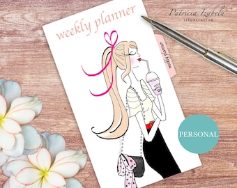 Personal Weekly Planner Daily Weekly Planner Pages Blank Weekly Planner Daily Planner Pages Weekly Schedule Daily Organizer Weekly Filofax