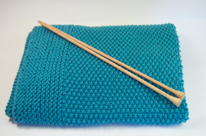 Patron manta para bebe a dos agujas patron mantita facil para - Manta de crochet facil ...