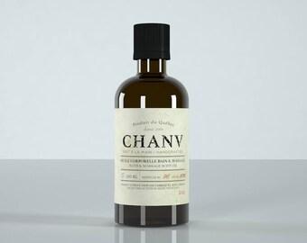 Body bath & massage oil