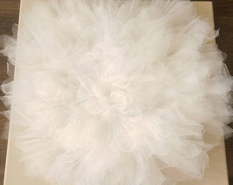 Tulle Flower - Wall Decor