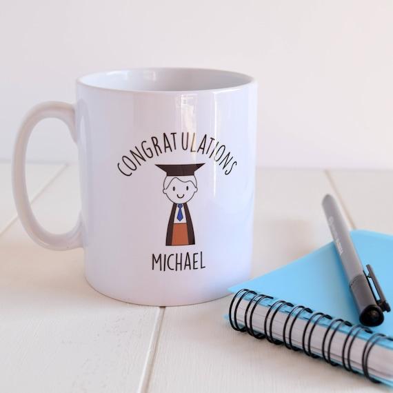 Boy's graduation mug - Graduation gift - graduation