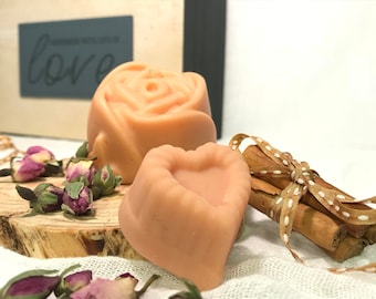 Floral solid lotion bar, natural body bar, moisturizing body bar, massage body bar, organic solid lotion, Mother's day gift, Myherbalicious