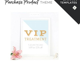 Canva Templates for Product Based Business Social Media Designs