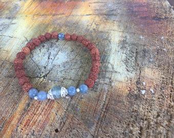 Hand Vishuddha Rudraksha Bead Bracelet,  Rudraksha,gems