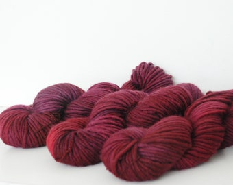 APPLEOAK Plant Dyed STOCKHOLM  ~ WITCH Fire ~ plant dyed  ~ Bulky