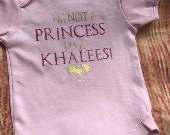 Game of thrones Khaleesi bodysuits onesies, vests
