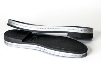 Lightweight rubber soles for felted and leather women shoes - Soles women footwear - Soles for sneakers - Soles for felted boots