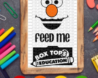 Elmo Box Top SVG