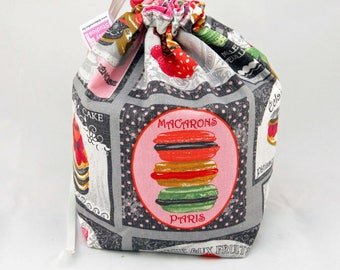 Midi Project Bag - Patisserie