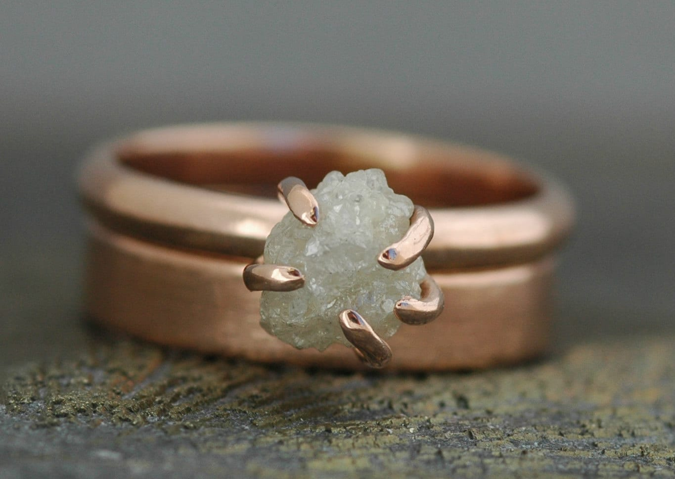 forge moonstone engagement chestnut ring the tear ella diamond raw shop rings