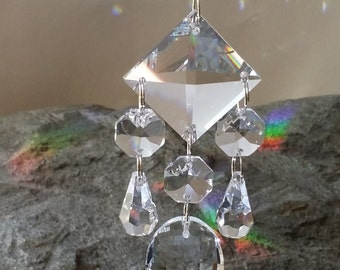 Crystal Chandelier Suncatcher Sun Catcher Crystal Suncatcher