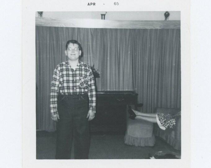 Vintage Snapshot Photo: April, 1965 (127625)