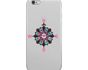 Compass Rose - iPhone Case