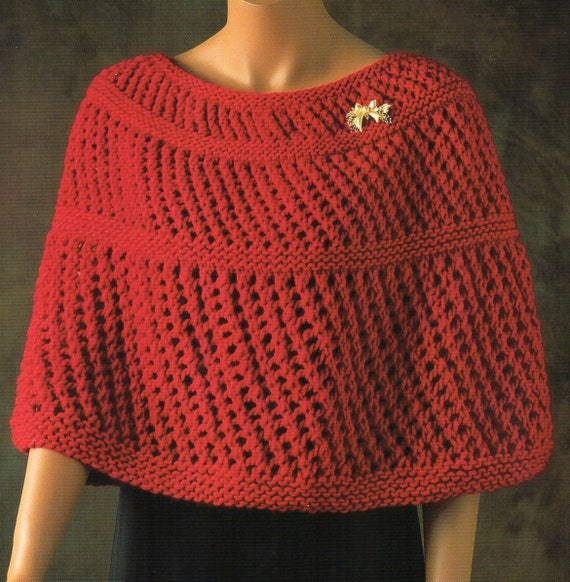 Capelet Knitting Patterns Image Collections Handicraft Ideas Home