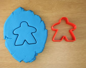 Meeple Cookie Cutter - Player Pawn Cookie Cutter