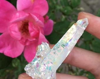ANGEL AURA quartz point, high quality