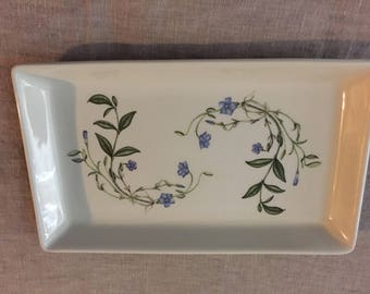 Portmeirion The Queen's Hidden Garden Plate Vanity Tray