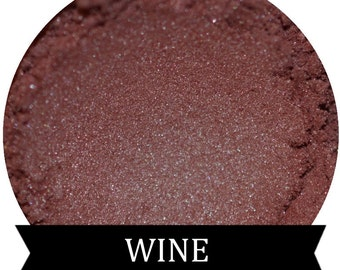 WINE Burgundy eyeshadow