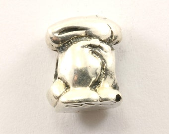 Vintage Bunny Charm Sterling 925 CH 412