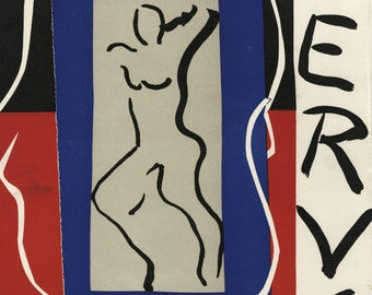 """HENRI MATISSE (French, 1869-1954), """"Verve (cover)"""", 1937, lithograph"""