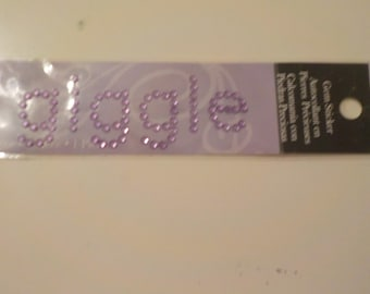Gem Stone Giggle Sticker
