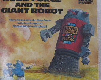 Vintage Robo Force and the Giant Robot Book