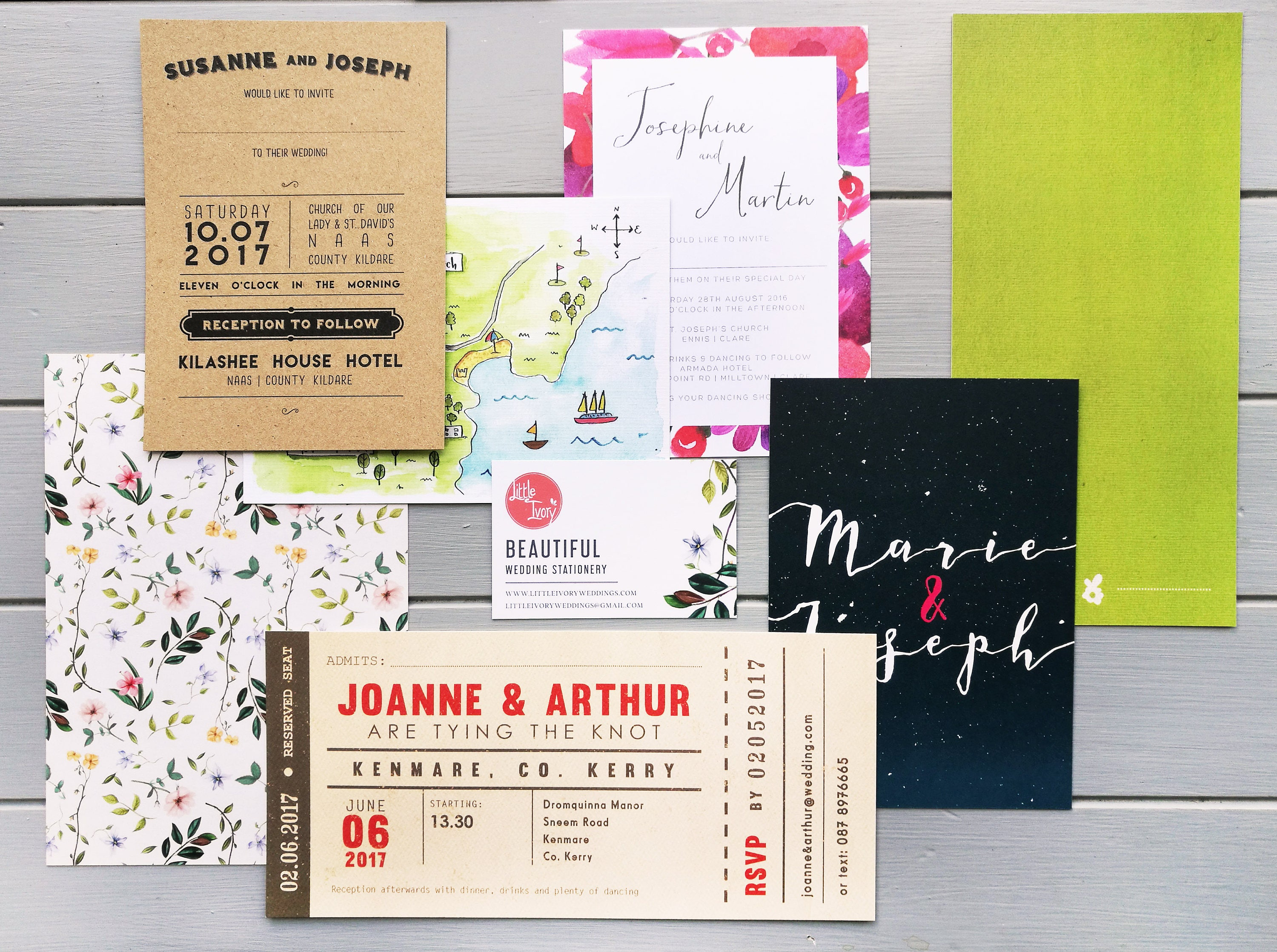 What To Include In A Wedding Invitation Pack: Sample Pack Wedding Invitations