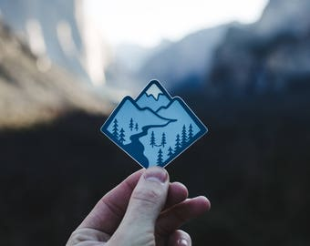 Blue Mountain Sticker