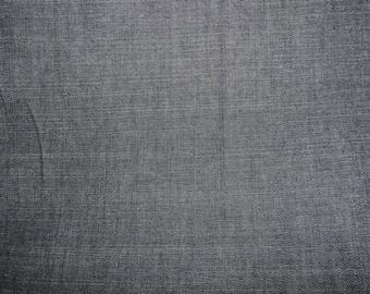 Fabric - Dark indigo stretch  denim