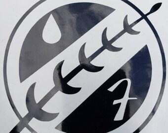 Boba Fett Crest Vinyl Decal