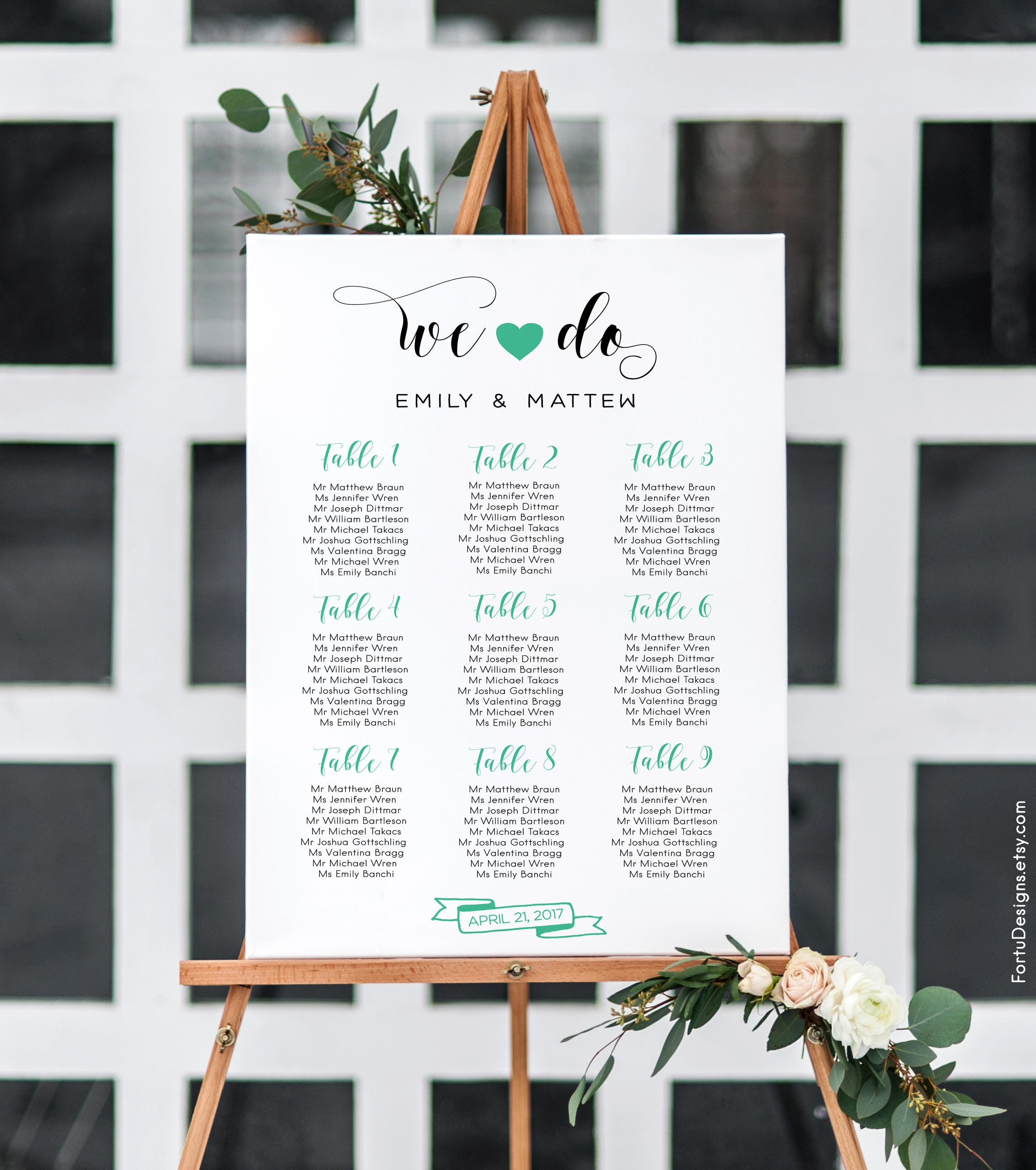 Minimal wedding seating sign table seating chart table chart zoom alramifo Gallery