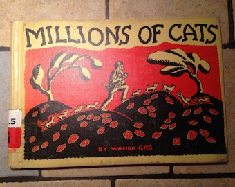 1928 Millions of Cats Children's Book