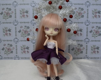 Purple set [Momoko obitsu 21cm =]
