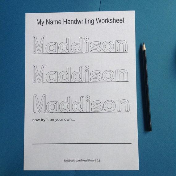 Beste Handschrift Name Arbeitsblatt Fotos - Mathe Arbeitsblatt ...