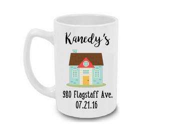 Housewarming Mug / Housewarming Gift / Coffee Mug Gift / Personalized Housewarming Gift / Housewarming Personalized Mug