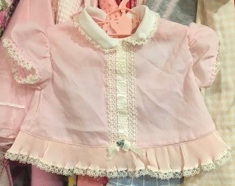 50s Baby Dress 0/3 Months