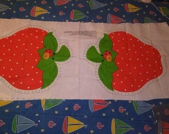 Strawberry Shortcake Strawberry Pillow fabric